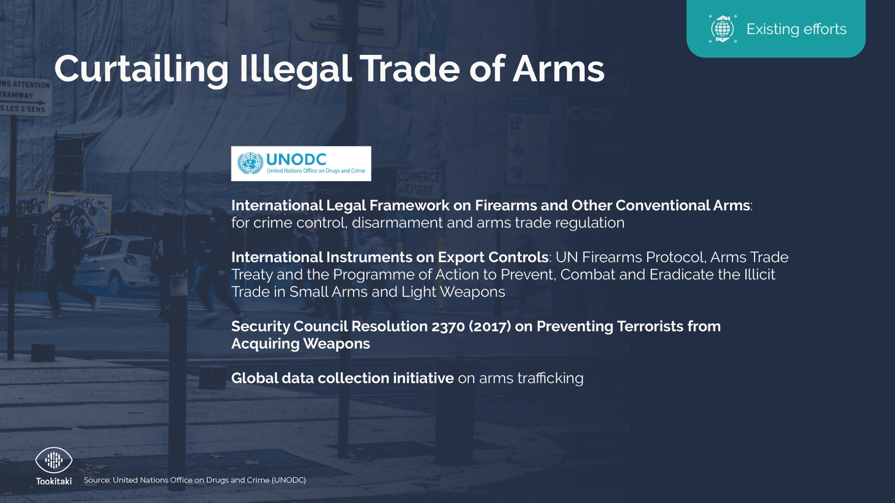Curtailing Illegal Trade of Arms